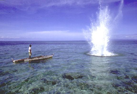 pesca explosiva
